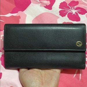 ❤️Authentic GUCCI leather wallet